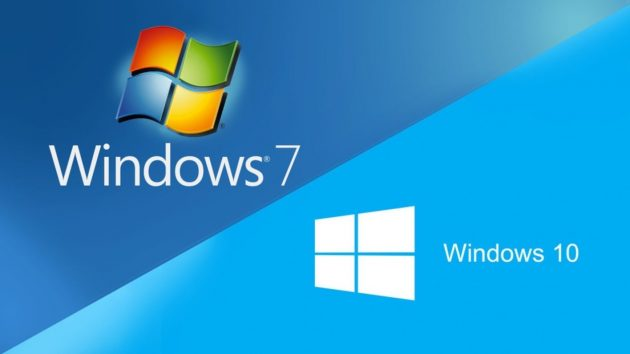 Windwos 7 to windows 10
